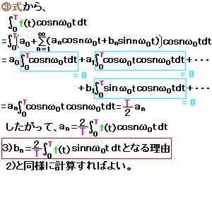 フーリエ級数展開3